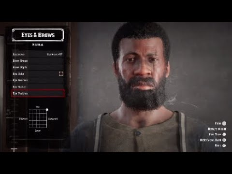 Red Dead Redemption 2 Online - Django Face Creation