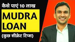 Mudra Loan: Pradhan Mantri Mudra Yojana in Hindi (2019 and Beyond)