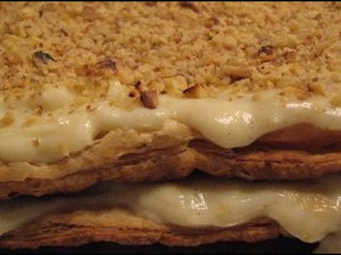 Napoleon cake recipe video