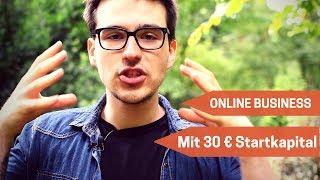 Wie Man Mit 30€ Startkapital Ein Online Business Aufbaut - Internet Business aufbauen mit Shopify