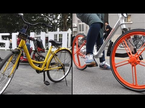 Chinese Tech Giants' New Bet: Bike Sharing