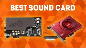 Best Sound Card 2020 [WINNERS] - The Complete Buying Guide