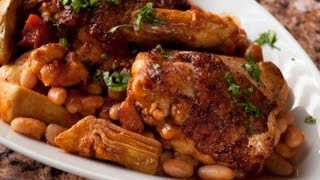 Uncle Sippy's Braised Chicken Thighs By Chip Roberts And Tommy Stinson