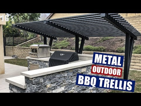 Metal Outdoor BBQ Trellis | JIMBO'S GARAGE