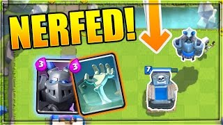 MEGA MINION & TOMBSTONE NERFED! | NEW UPDATE in Clash Royale!