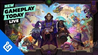 Hearthstone Scholomance Academy NEW CARDS - New Gameplay Today Live