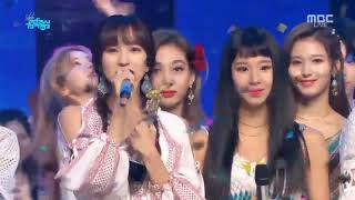 180721 TWICE 트와이스 DTNA 4th win on Music Core