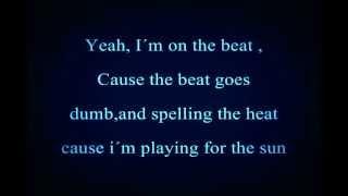 Justin Bieber ft. Busta Rhymes -Drummer Boy Lyrics on Screen!