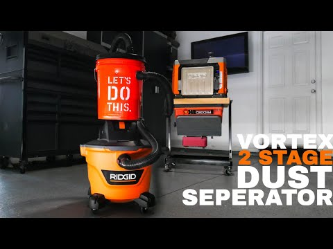 Shop Vac Dust Collection System