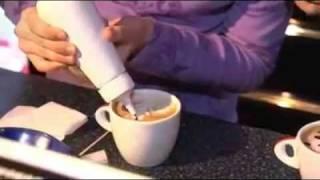 Уроки капучино арт в кофейне Киева