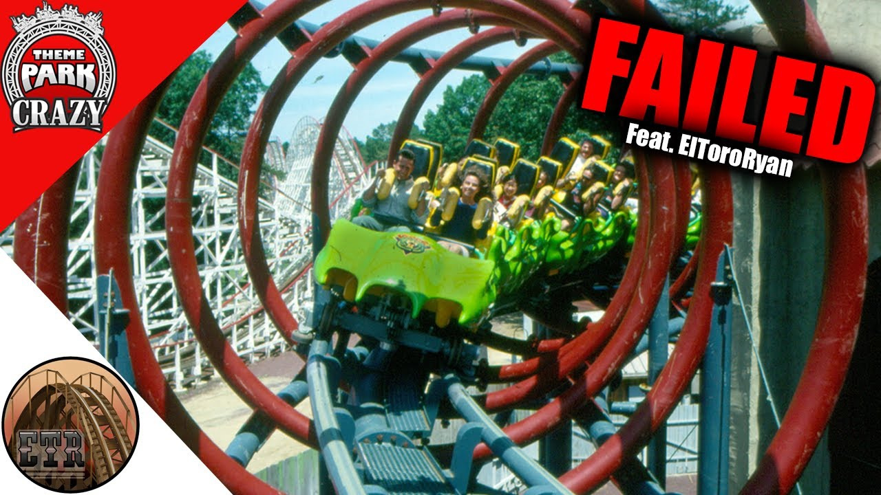 FAILED Roller Coasters: Viper at Six Flags Great Adventure feat. ElToroRyan