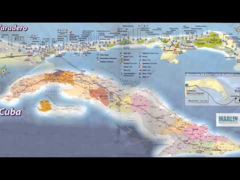 Varadero Beach Cuba Map