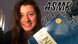 ASMR Bible Reading for Relaxation and Sleep