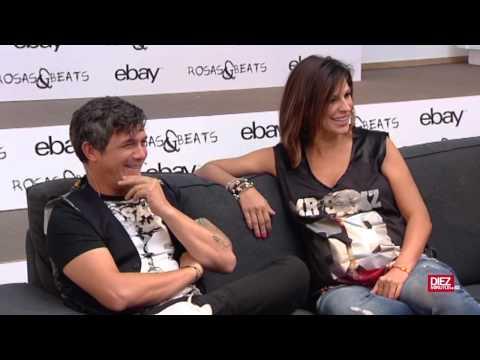 Alejandro Sanz y Raquel Perera se meten a modistas
