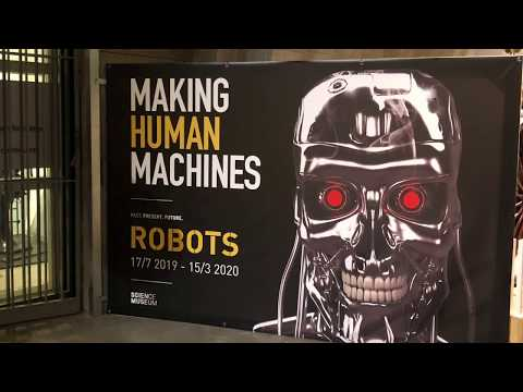 Robots exhibition at Museum of Technology in Stockholm, 2019