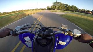Yamaha Raptor 700R First Ride