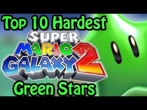 Top 10 Hardest Super Mario Galaxy 2 Green Stars