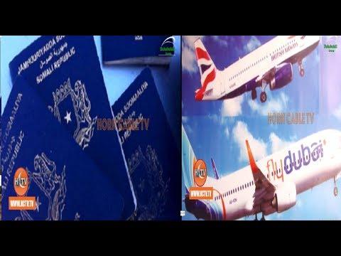 Somaliland Oo Joojisay In Bilaa Passport Lagu Tago Muqdisho