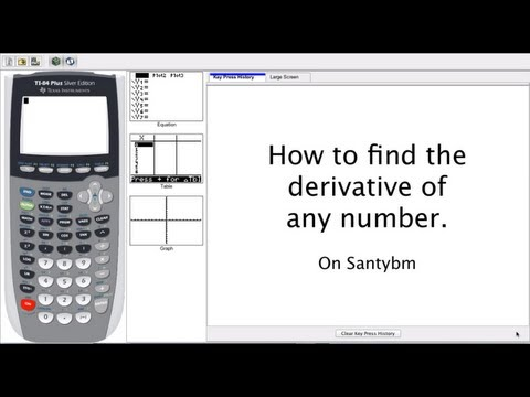 Find the Derivative of a Function - TI-84 Tips and Tricks (QUICK and Easy!)