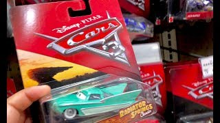 2018 Disney Cars Toys Hunt Family Toy Review 1,000th Upload - We MiSSED Primer Lightning McQueen 😭