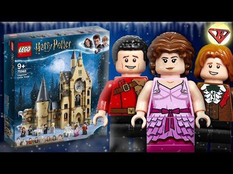 LEGO Harry Potter Часовая башня Хогвартса 75948 Подробный Обзор