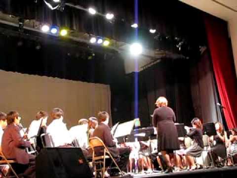 Bert Lynn Middle School Symphonic Band Winter Conc...