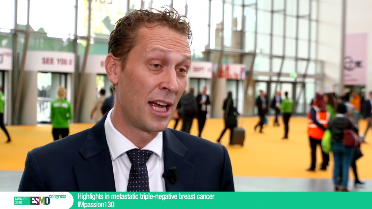 ESMO 2018 Congress: Highlights in metastatic triple negative breast cancer LBA1 PR - YouTube