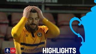 Goal Line Clearance Saves Newport | Wrexham 0-0 Newport | Round 2 | Emirates FA Cup 2018/19