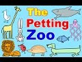 Petting Zoo Cartoon w/ Farm Animals for Toddlers! Learn Animals & English | Kids Learning :)