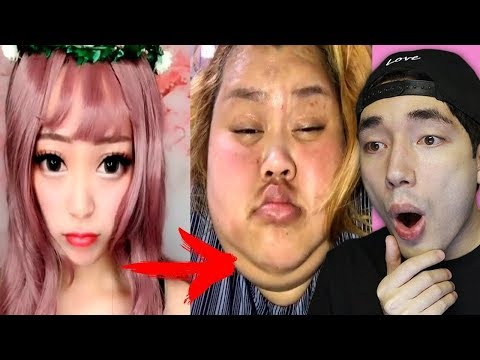 Viral Asian Makeup Transformations! (INSANE)