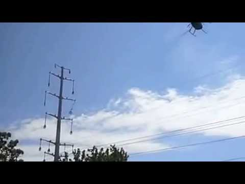 Helicopter Rigging Electrical Cable in St. Mary's County Maryland
