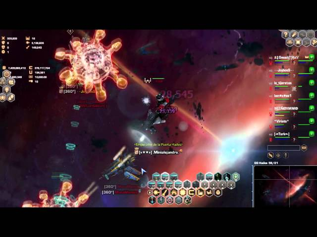 Darkorbit New Hades Gate - Best score Darkrobit! 0:14:15 Travel Video