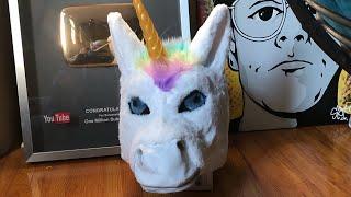 PRANK CALL and Unicorn Zombie Prank Costume