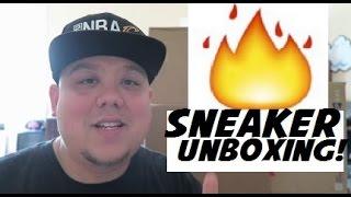 FIRE SNEAKER EXCLUSIVE UNBOXING!!!