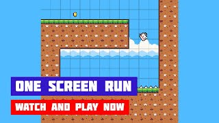 One Screen Run · Game · Gameplay