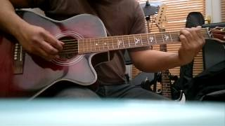 LEADER OF THE BAND DAN FOGELBERG INTRO GUITAR LESSON SLOW MOTION