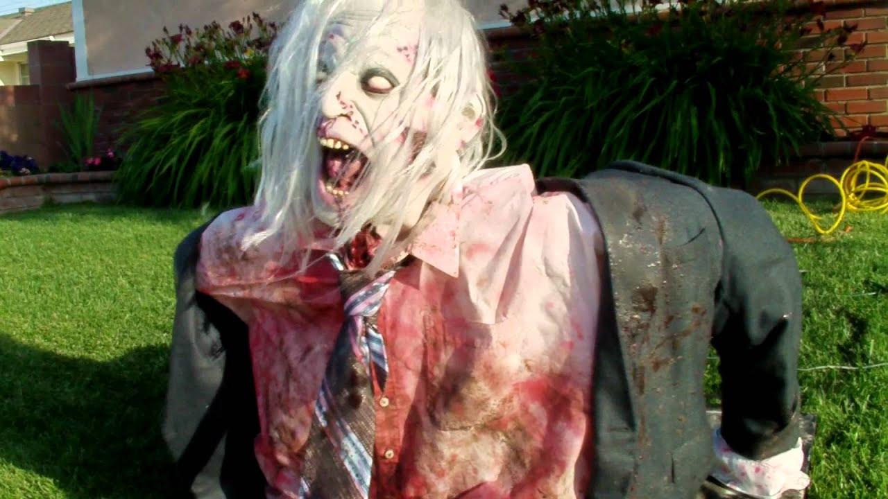 Zombie Pneumatic Monster Halloween Prop Ground Breaker 1