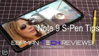 Samsung Galaxy Note 9 S Pen - THE ULTIMATE GUIDE WHAT