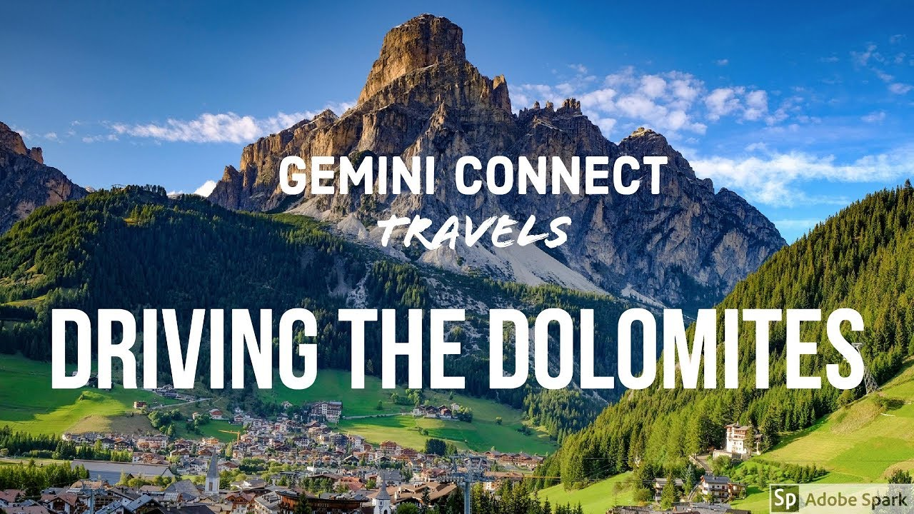 Driving the Dolomites Mountains & Italian Alps - Italy Travel Vlog