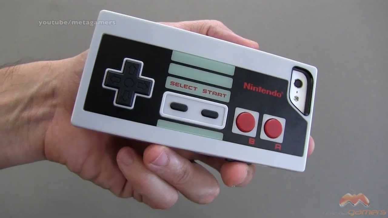 low priced 92782 2f39a Nintendo (NES) iPhone 5 & 5S Case by PDP - YouTube