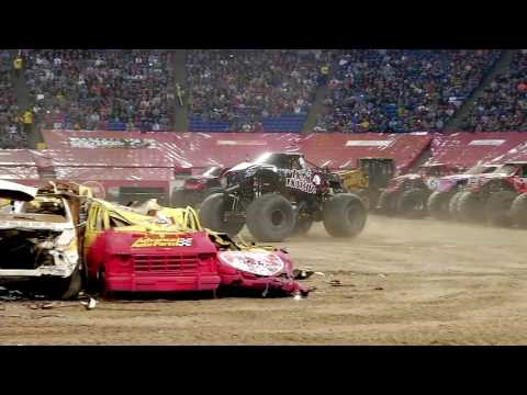 Monster Jam in HHH Metrodome - Minneapolis, MN 2012 - Full Show - Episode 4