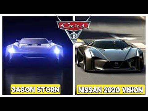Los Personajes de La película Cars 3 en la Vida Real