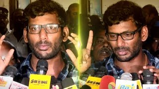TamilRockers or TamilGun ADMIN ARRESTED? Actor Vishal Speech on PIRACY! | Thupparivalan | TN275
