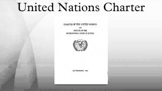 un charter outdated The diagnosis is clear: the security council reflects the geopolitical realities of 1945, not of today.