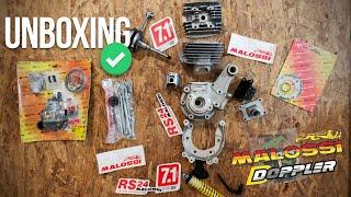 UNBOXING de chez RRD, Moteur FULL MALOSSI / DOPPLER  [ 103 Peugeot ]