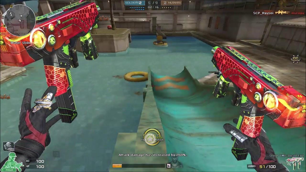 Crossfire NA ( Đột Kích ) 2.0 : Steyr TMP Death Eyes - Resort Nano - Zombie V4