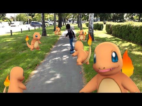 Find Charmander Nest! (Pokemon Go Trading Wiki Review) | Pokemon Go #4