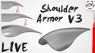 Designing A New Shoulder Armor Scale