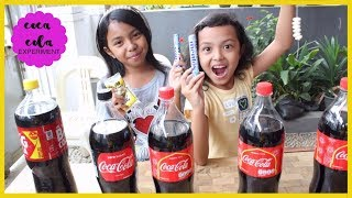 COCA COLA EXPERIMENT VS MENTOS VS BAKING SODA VS SALT ♥ EPICK EXPLOSION