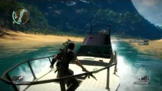 Just Cause 2 YACHT